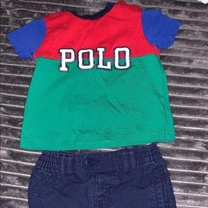 Boy Polo Two Piece